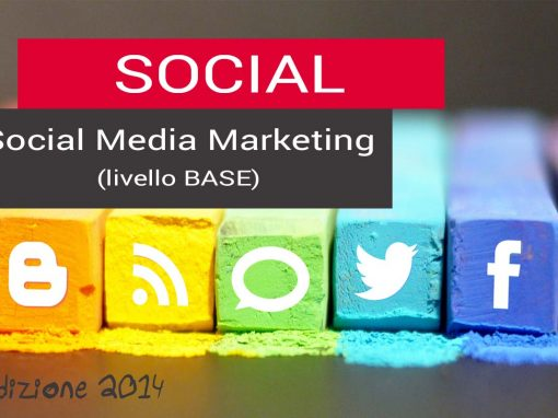 Corso di Social Media Marketing – livello base – 8 ore