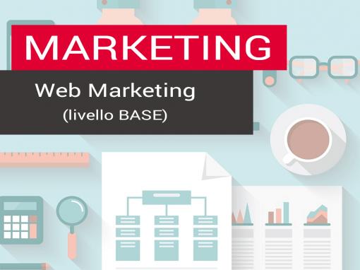 Progettazione e realizzazione corso di Web Marketing – livello base – 16 ore
