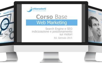 Corso SEO Ottimizzazione Siti Web – gennaio 2015