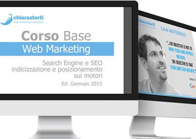 Progettazione e realizzazione corso di Web Marketing base