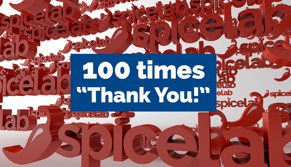 Social media spicelab 100 likes
