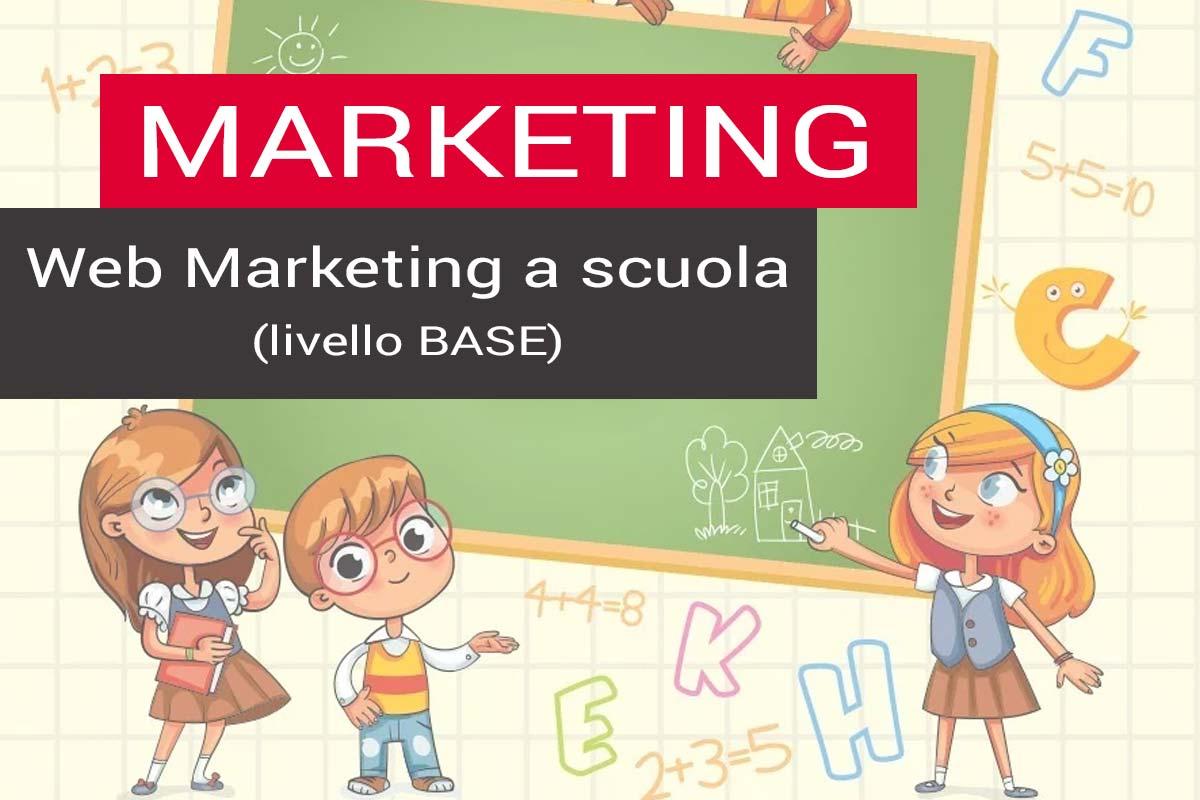 corso di marketing base per la scuola