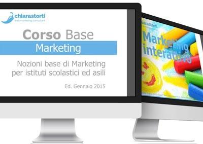 Progettazione e realizzazione corso di Marketing base (per la scuola)