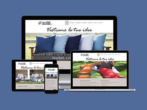 Realizzazione sito web Lollodue.com