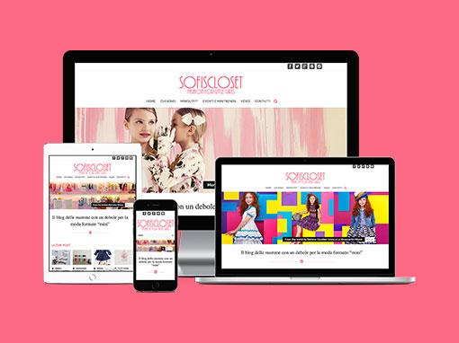 Realizzazione sito web Sofiscloset.it