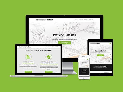 Realizzazione sito web Studiotoffanin.com
