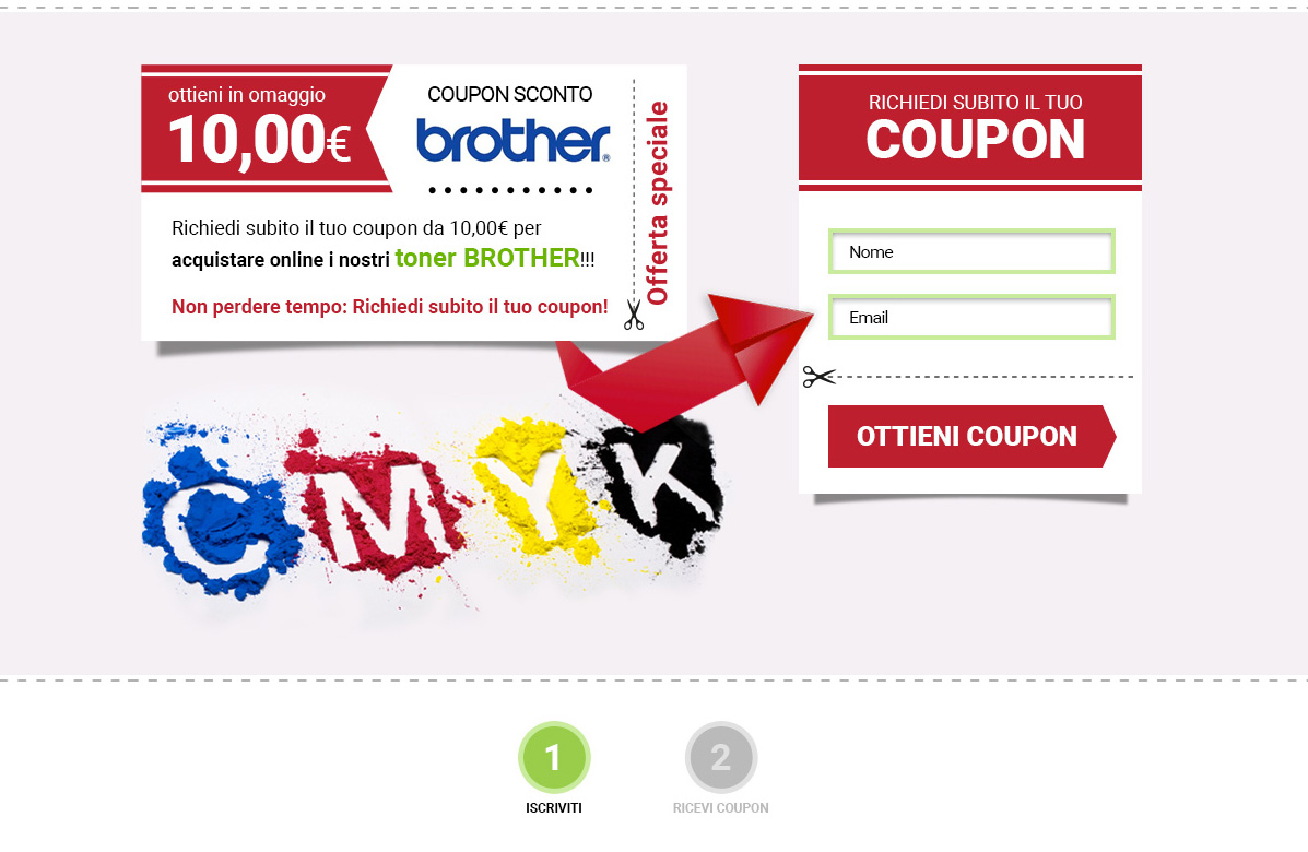 Coupon sconto per e-commerce: campagna AdWords