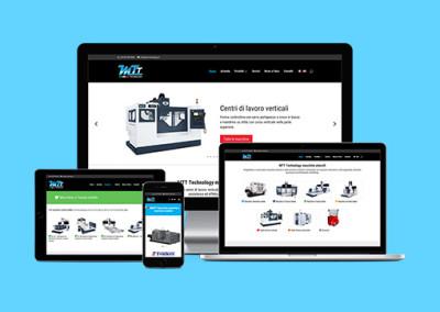 Realizzazione del sito Mtt-technology.it