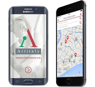app Artitaly realizzazione icona e logo