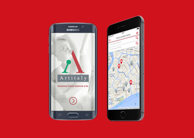 Artitaly: sviluppo app, realizzazione logo, sito web, gestione social