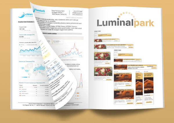 Campagna pubblicitaria Google AdWords – LuminalPark 2015