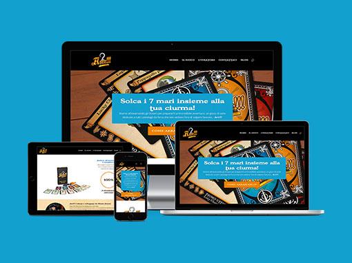 Realizzazione sito web Arrrthegame.com
