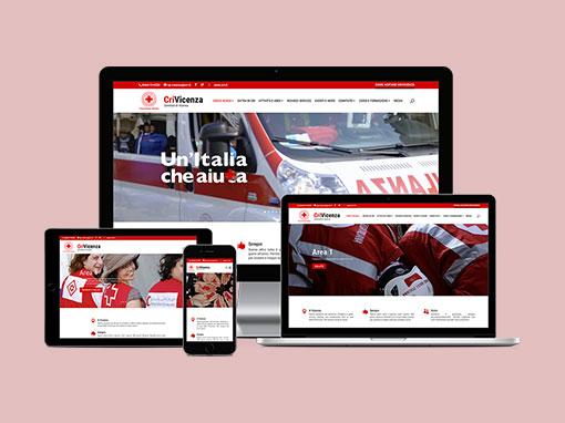 Realizzazione sito web Crivicenza.org