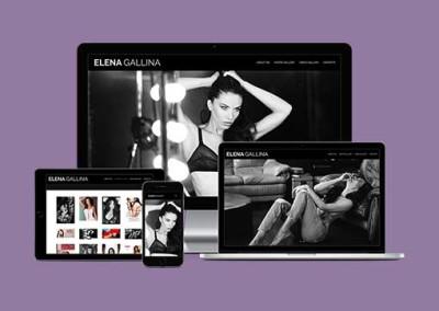 Restyling sito web Elenagallina.com