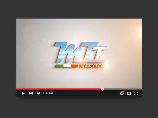 Realizzazione video splash d'introduzione MTT Technology