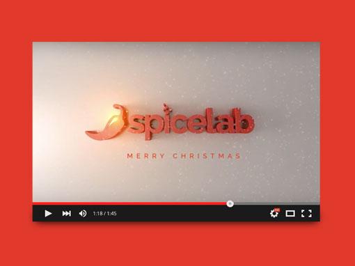 Video per gli auguri di Natale Spicelab 2014