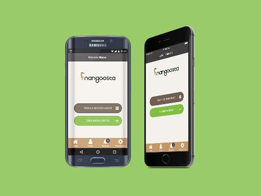 Studio grafico App Mangoosta