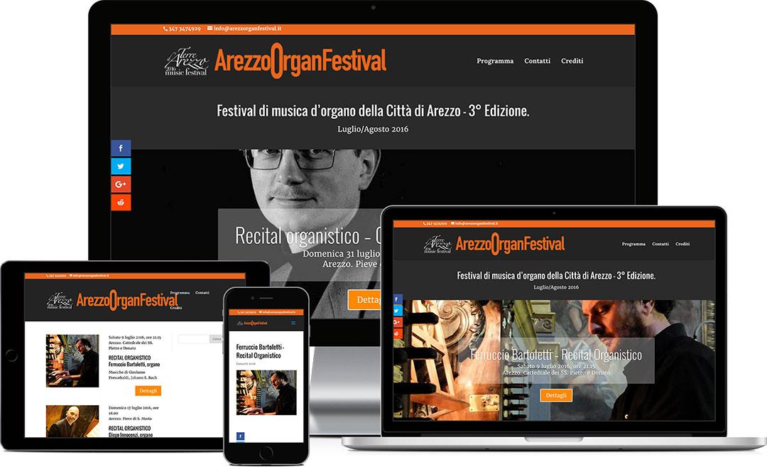 realizzazione del sito responsive