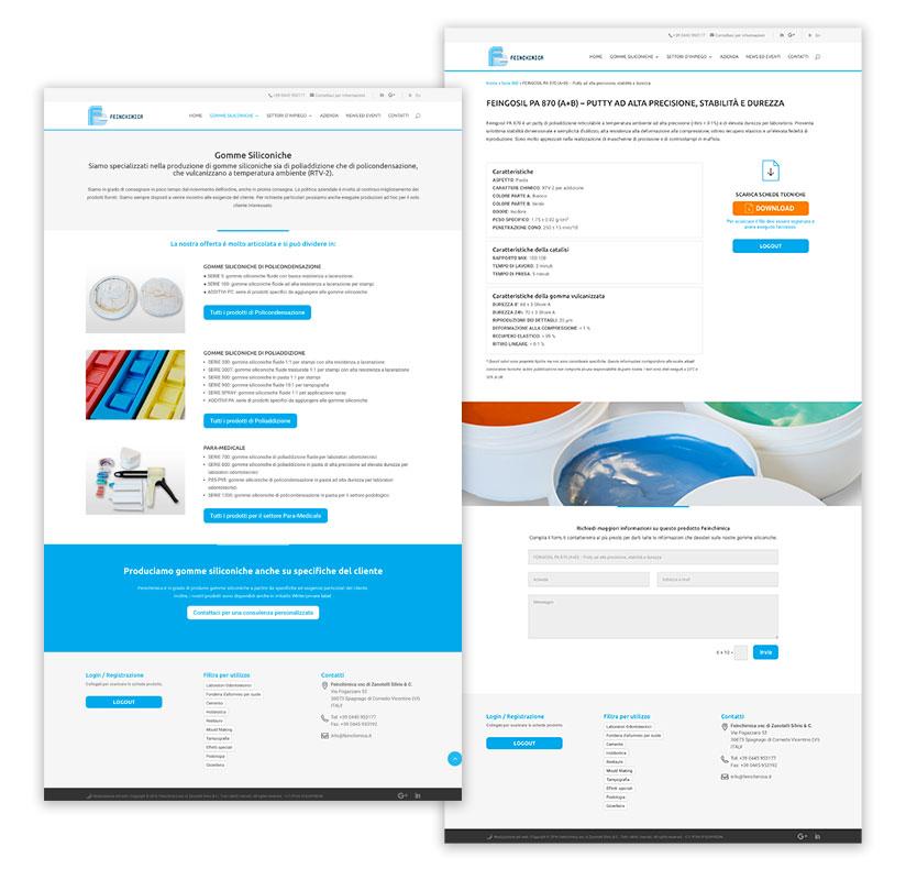 grafica web sito aziendale