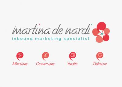 Rebranding per Martina De Nardi, inbound marketing specialist