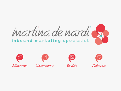 Rebranding per Martina De Nardi, inbound marketing specialist