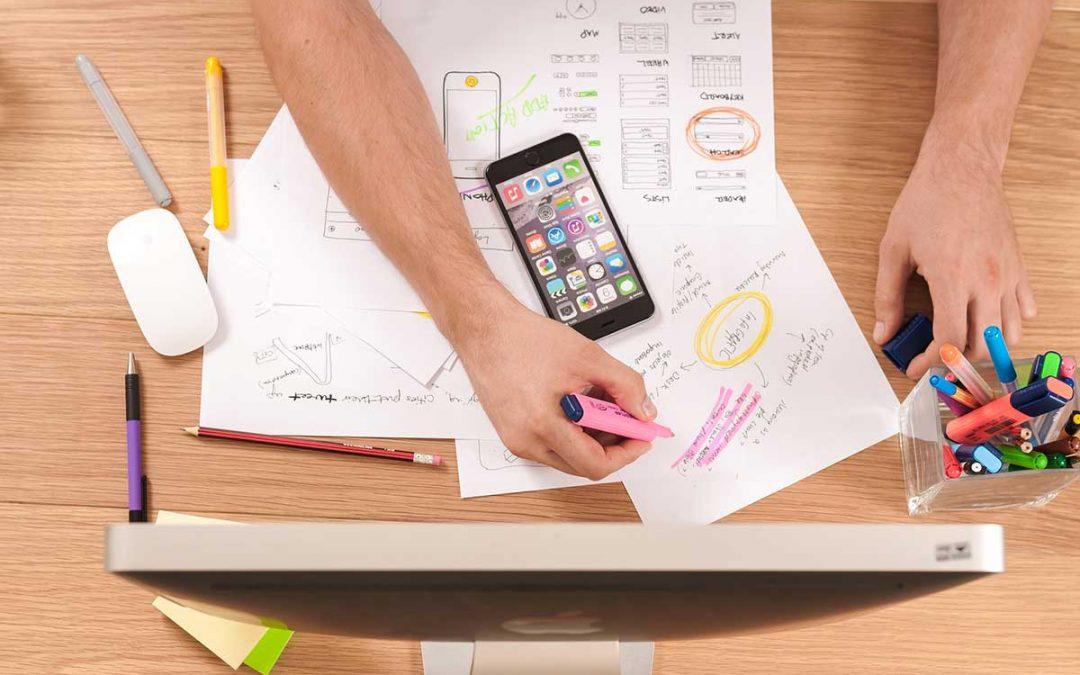Il design per la realizzazione di siti web aziendali