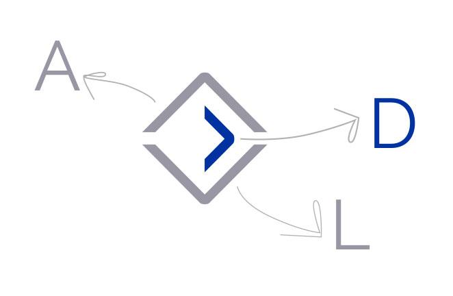 ADL simbolo logo Studio De Lucca