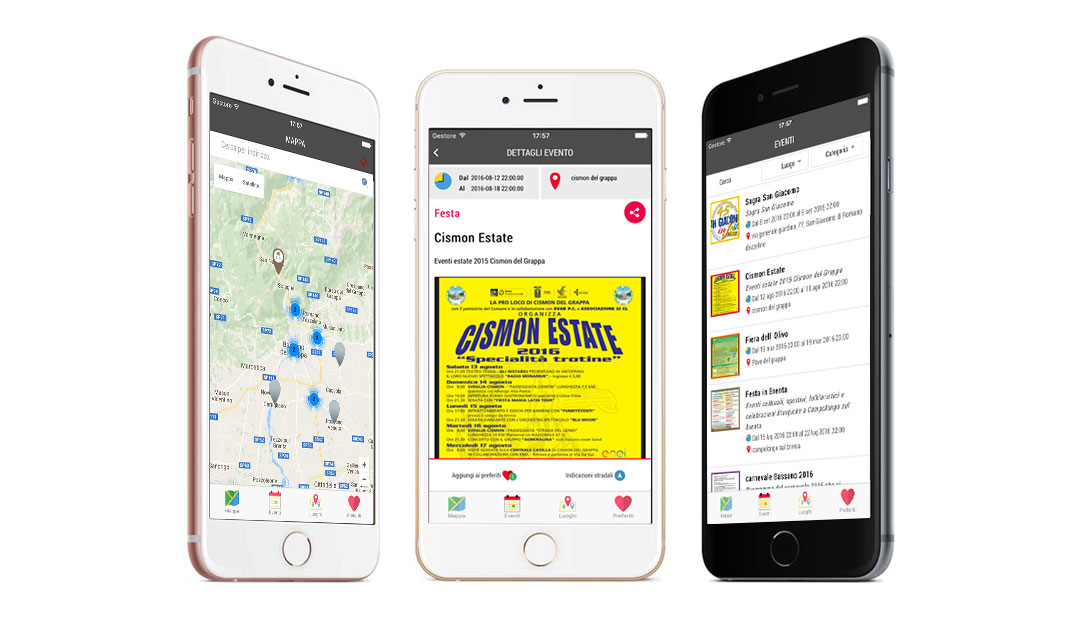 Mobile app Consorzio Grappa Valbrenta