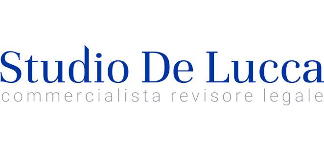 lettering individuato per logo Studio De Lucca