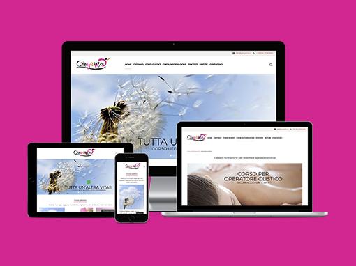 Realizzazione sito web associazione olistica Gioyamo.it