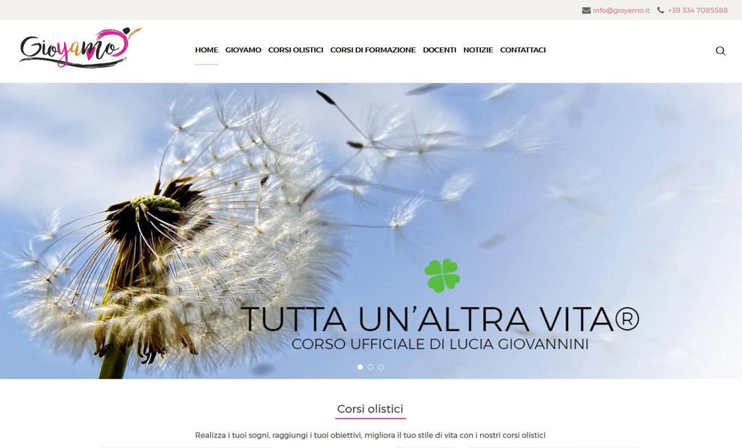Gioyamo.it homepage sito