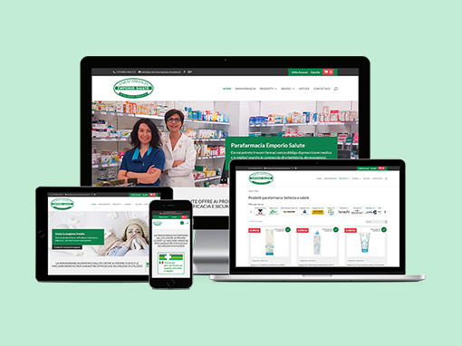 Restyling dell'E-commerce Parafarmaciaemporiosalute.it