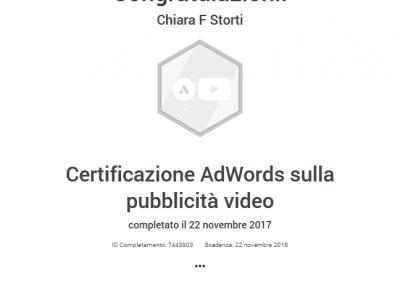 Google Partner certificazione pubblicità video