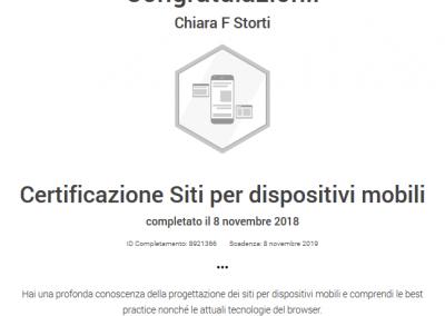 Google Partner certificazione siti dispositivi mobile