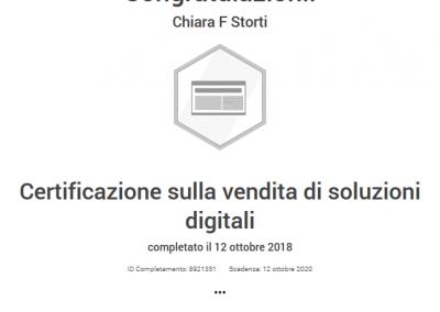 Google Partner certificazione vendita soluzioni digitali