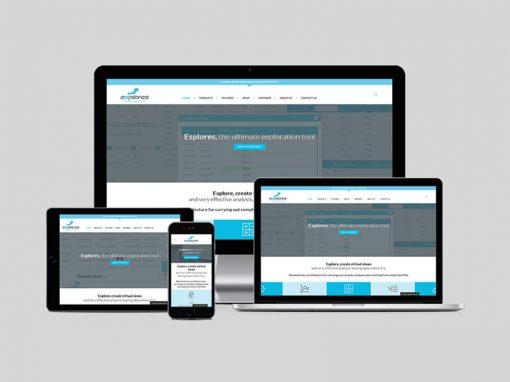 Design logo e realizzazione sito web Esplores.com