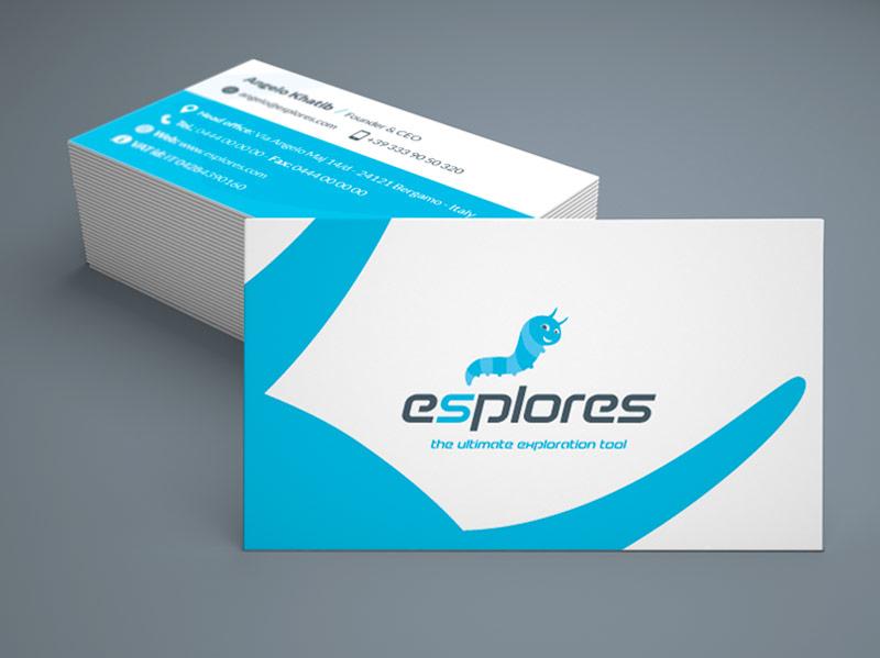 Design logo e biglietti da visita Esplores