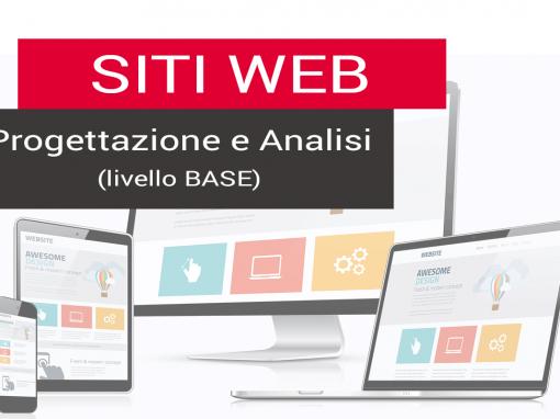 Corso Progettazione Siti web – livello base – 16 ore