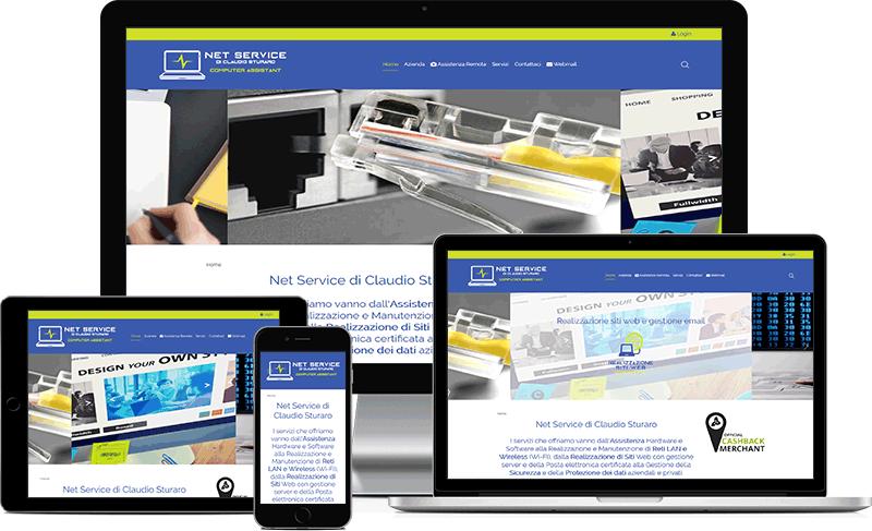 sito web responsive essènza